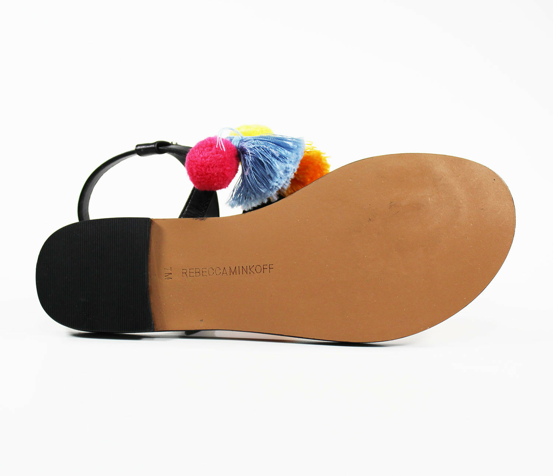 Rebecca Minkoff femme Estelle Cuir Sandale Sandale Sandale 565a4a