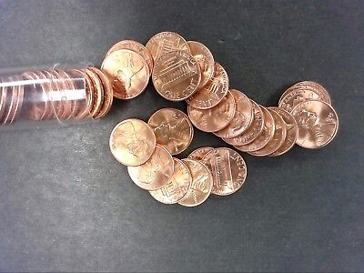 1985-D GEM BU ROLL OF LINCOLN MEMORIAL CENTS 50 COINS