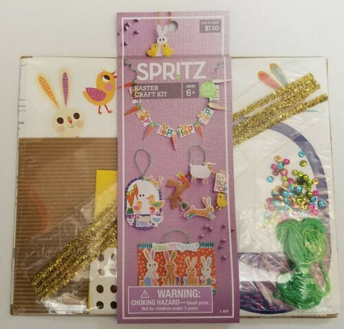 Spritz Spring Easter Craft Kit Decorations Bunny Egg 343 Pieces