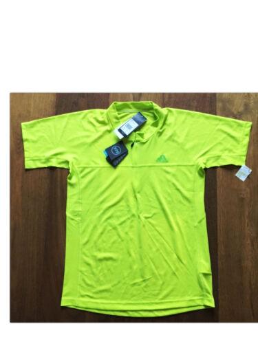 6 Funktionsshirt  Gr M  NEU+OVP Adidas TS DD Cocona ½-zip S/S Shirt Herren