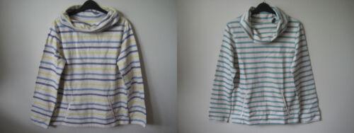 Seasalt Boslowick Sweatshirt Sweat Top 8 10 12 Breton Stripes organic cotton