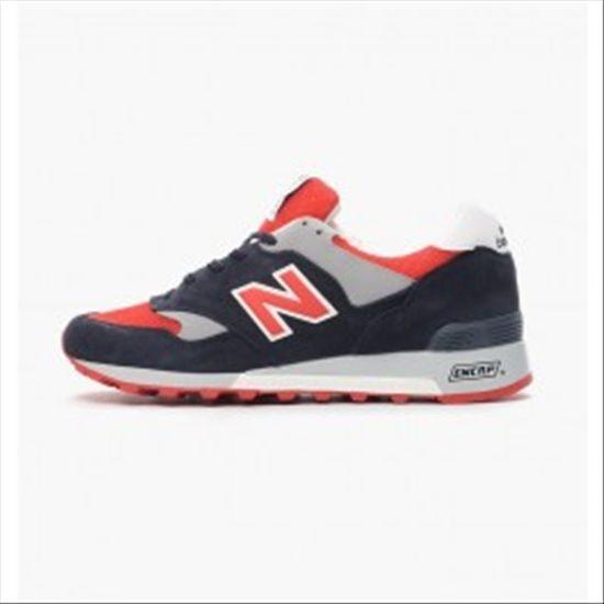 Schuhe Neu - Balance M577 - Neu Navy / ROT-8 0239ba