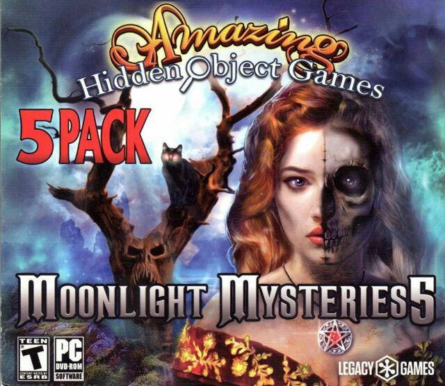 Amazing Hidden Object Games Moonlight Mysteries 5 PC Game Window 10 8 7  Computer