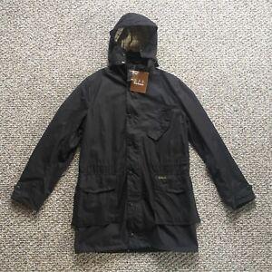 NWT-RARE-Men-039-s-Barbour-Foreland-Wax-Jacket-Medium