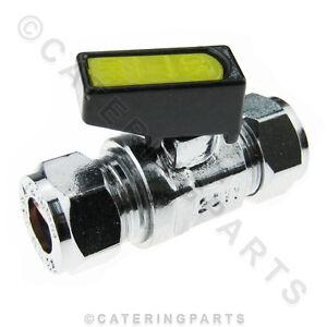 Le10 Mini Languette / Isolant Robinet à Boule 10mm Compression On / Off Gpl / Gaz Nat-afficher Le Titre D'origine Beau Lustre