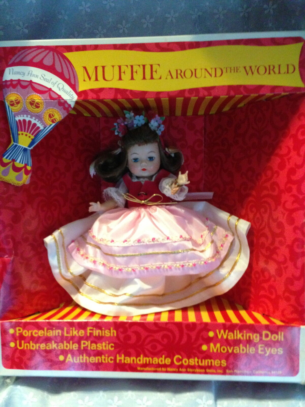 Nancy Anne Muffie C 1950-60 MIB Poland  Doll Boxed in Original Condition