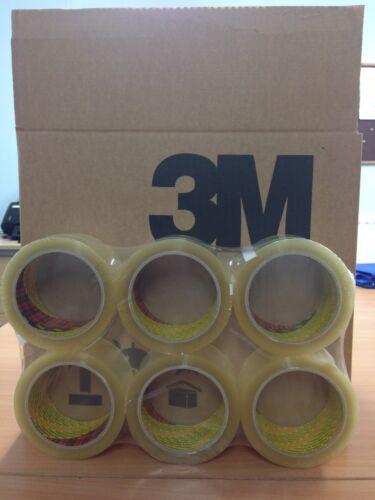 36 ROTOLI 3m SCOTCH TRASPARENTE IMBALLAGGIO//nastro da imballaggio 48mm x 66m CONSEGNA GRATIS 24hr