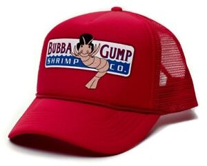 Caricamento dell immagine in corso BERRETTO-trucker-Retro-Bubba-Gump-Shrimp- Co-Movie- 1385335d84a8