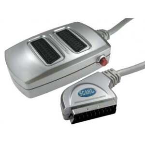 2-Vias-Scart-Adaptador-Caja-de-conmutacion-Conectar-2-dispositivos-a-1-TV