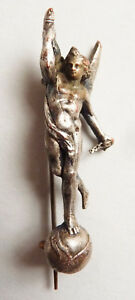 Broche Génie De La Liberté Bastille Statuette 19e Siècle Ange Qnbkxzwa-10103159-932876076