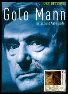 BRD MK 2009 GOLO MANN LITERATUR PRIVATE !! MAXIMUMKARTE MAXI CARD MC CM dd80 - 68642 Bürstadt, Hessen, Deutschland - BRD MK 2009 GOLO MANN LITERATUR PRIVATE !! MAXIMUMKARTE MAXI CARD MC CM dd80 - 68642 Bürstadt, Hessen, Deutschland