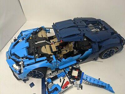 LEGO Technic Bugatti Chiron Blue Race Car Set 42083 ...