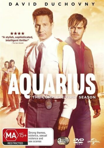 1 of 1 - Aquarius : Season 1 (DVD, 2015, 3-Disc Set)