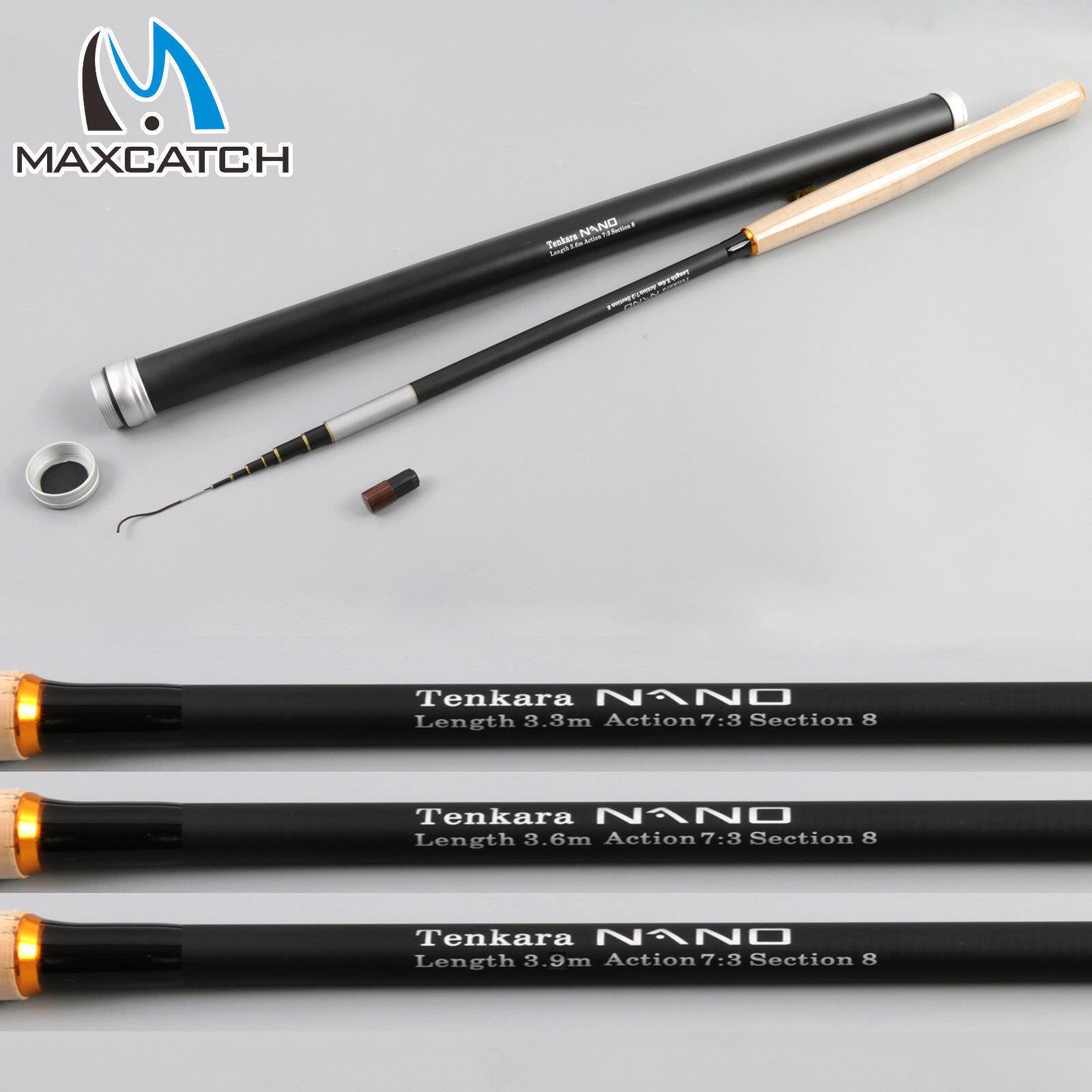 Maxcatch 11'12'13' Nano Tenkara Rods IM1240T autobon Tube Telescopic Pole