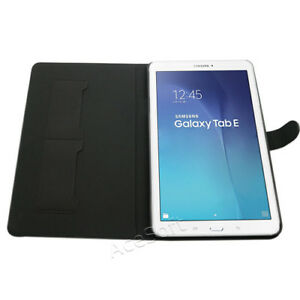 For-Samsung-Galaxy-Tab-E-9-6-T567V-Tablet-PU-SMart-Cover-Leather-Case-USA-Seller