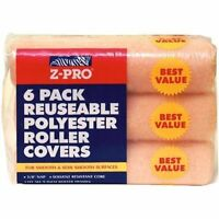 192 Z-pro Reusable Polyester Paint Roller Covers - 9 X 3/8 Nap - Ships Free