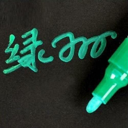 wasserdichte dauerhafte Farbe Filzstift Autoreifen Reifenprofil Gummi Metal W2I1
