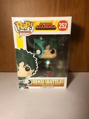 Battle - My Hero Academia MHA NEW !!! Animation Funko POP 252 Deku