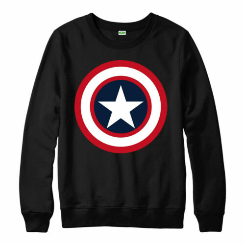 Avenger Legends Heroes Comics Adult /& Kids Jumper Top Captain America Jumper