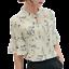 Women-Girl-Chiffon-Casual-Shirts-Floral-Printing-Short-Sleeve-Blouse-Casual-Tops thumbnail 2