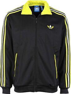 Veste Adidas Originals Firebird 3 Stripes Track Collector Jacket G76223 / Noir M