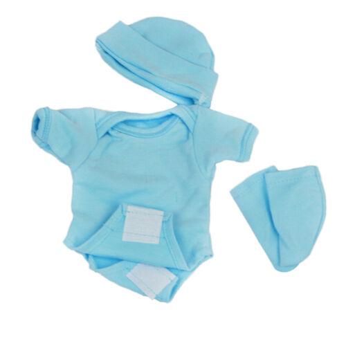 Boy Puppenkleidung Mode Strampler Shorts für 10 11 Zoll Reborn Baby Girl