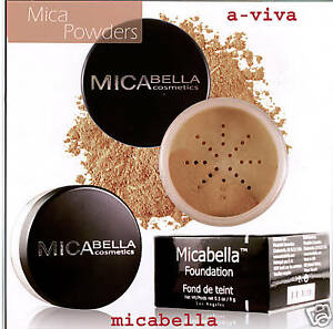 Micabella-Mineral-9gr-Foundation-Pick-Your-Color-green-glitter-free-gift