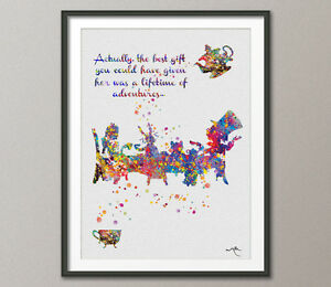 Image Is Loading Mad Hatter Tea Party Alice In Wonderland Watercolor