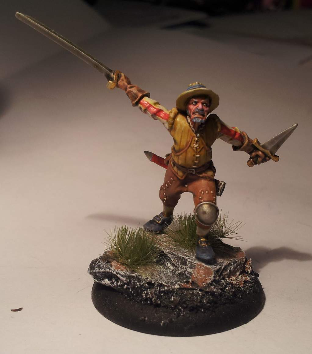 Blades for Hire Helldorado  - perfectly painted