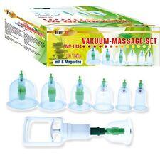 Schröpfen Vakuum Massage Set mit 12 Schröpfgläser Cupping set