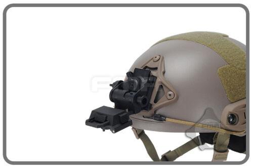 FMA Airsoft Paintball L4G24 Night Vision Googgles NVG 100/% Plastic Helmet Mount