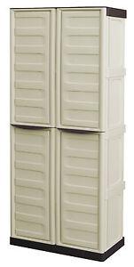 Armadio Da Giardino Metallo.Armadio Mobile Box In Resina Per Esterni Cerniere Di Metallo L 70 P