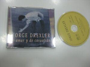 Jorge Drexler CD Single Spanisch De Amor Y Von Chance 1998 Promo