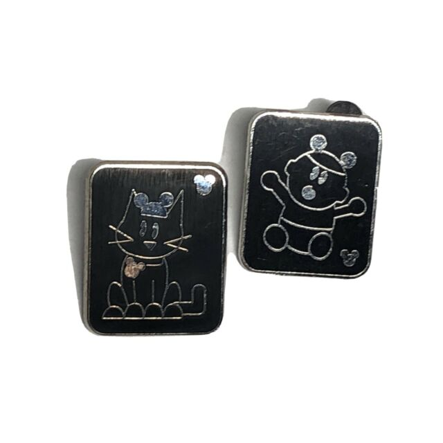 2008 Disney Hidden Mickey Series III Pins  Stick Family With Pets - Baby & Cat