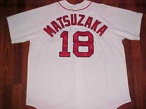 9b4b1cd7b Daisuke Matsuzaka  18 Boston Red Sox Majestic MLB AL East White ...