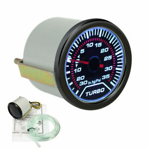 Universal-12V-52mm-2-034-Coche-Turbo-Boost-Manometro-Medidor-diales-Psi-Luz-Led