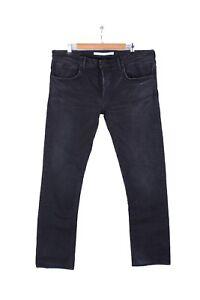 Mastercraft-Union-Jeans-01-Slim-Taper-Men-039-s-Black-38-34-Selvage-Japan-Denim-MCU