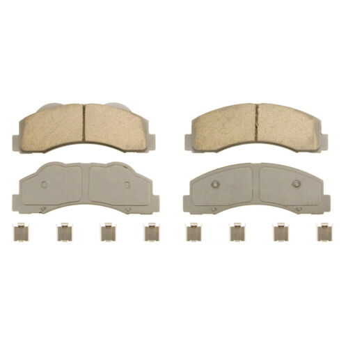 Disc Brake Pad Set-ThermoQuiet Disc Brake Pad Front Wagner QC1414
