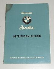 Betriebsanleitung BMW Isetta mit 12 PS / 245ccm von 05/1955