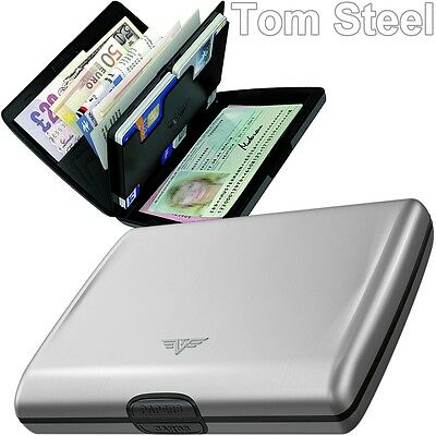 TRU VIRTU Aluminium (L) Portemonnaie ALU Brieftasche Geldbeutel Metal Wallet NEU