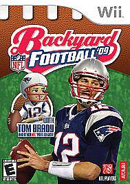 Backyard Football '09 (Nintendo Wii, 2008) for sale online ...