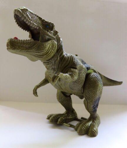 peut bien courir et crier NEUF Grand dinosaure avec schaurigem crier