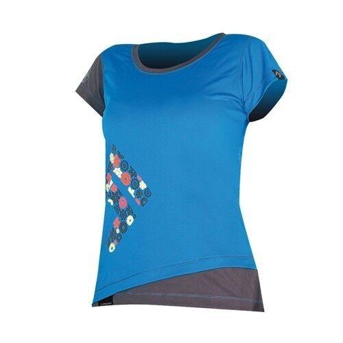 Direct Alpine Samba TShirt, uomoica CortaMaglietta divertiuominitozionale per donna, Blu