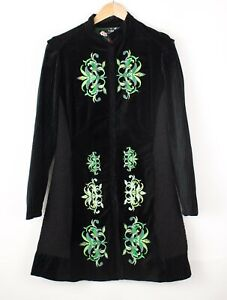 Desigual Damen Freizeit Mantel Jacke Mantel Größe 40 ATZ1237