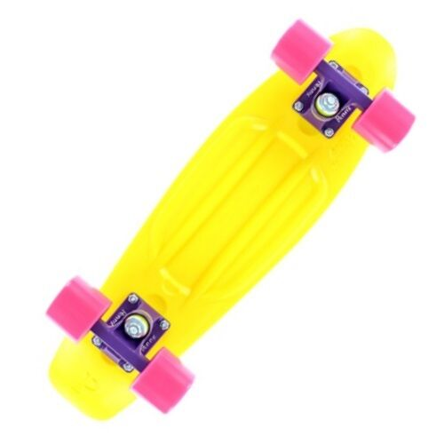 Penny S  board Plastic Original Yellow Purple Pink Cruiser S board 22'' ...  great offers