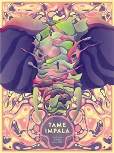 New Tame Impala Psychedelic Rock Music Band Custom Poster Print Art Decor T-890