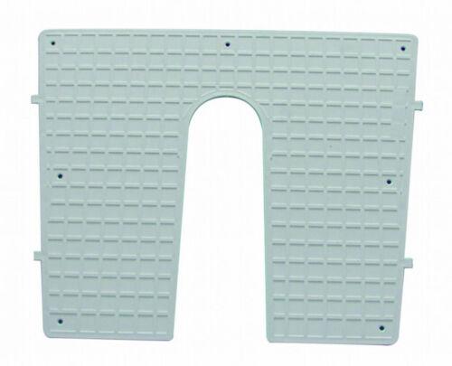 Außenborder Spiegel Verstärkung Heckschutzplatte Heckschutz Platte 450x360mm