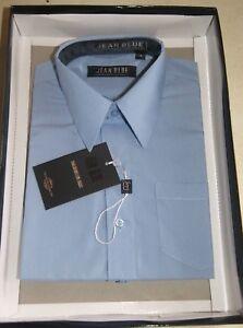Chemise-bleue-dans-son-coffret-taille-8-ans-marque-Jean-Blue