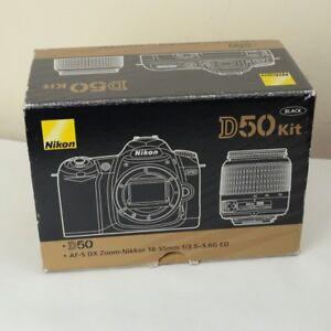 Nikon-d50-Kit-Black-Camera-Box-only