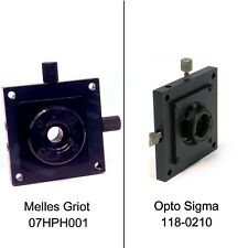 Melles Griot 07hph001 Opto Sigma 118 0210 Xy 16 Mm Pinhole Or Lens Positioner